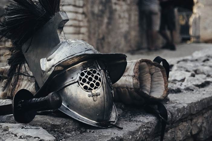 A middle age helmet and armor setup. Learn how Voisard can shield you from the intra-year decline.