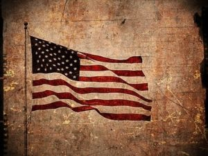 An American flag. Understanding the CARES act